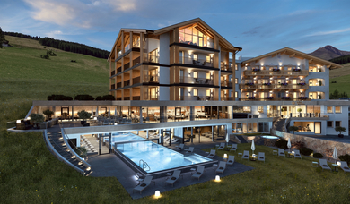 In Isarco valley at Maranza is located the Hotel Edelweiss