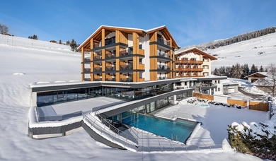 Hotel Edelweiss is located at Maranza in the ski resort Gitschberg