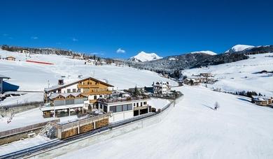 Winter landscape at Maranza - Pension Wiesenrain